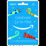 Amazon Celebrate Gift Card - $50