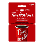 Tim Hortons Gift Card - $25