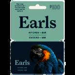 EARLS $100.00