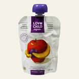 Love Child Organic Apple, Banana and Blueberry Puree
