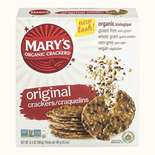 Mary's Organic Crackers Wheat Free and Gluten Free Original