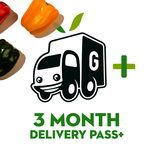 3 month Delivery Pass Plus