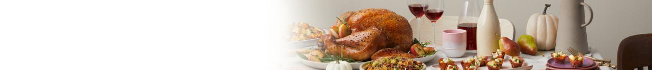 Thanksgiving Dinner Table 1