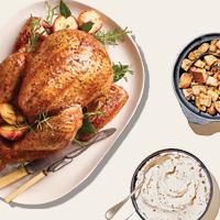 Turkey Mashed Potatoes and Stuffing